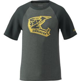 Zimtstern Faze T-Shirt Herren grau/schwarz